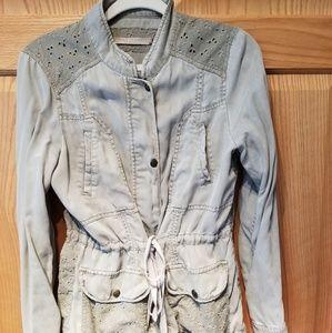 Olive light jacket size M